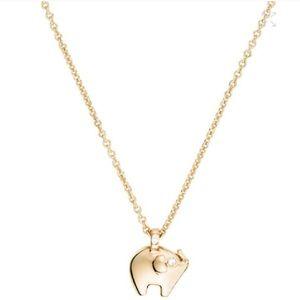 NWT Kate Spade Elephant Necklace